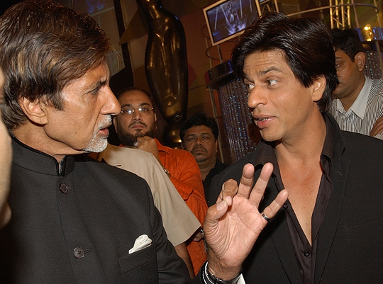 Amitabh Bachchan and SRK