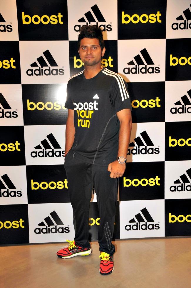 Suresh Raina at Adidas Energy Boost Launch
