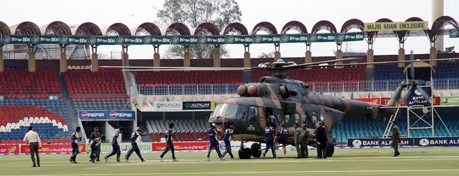 Terror Attack on the Sri Lankan Team