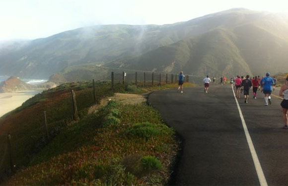 Big Sur International Marathon, Carmel, Calif