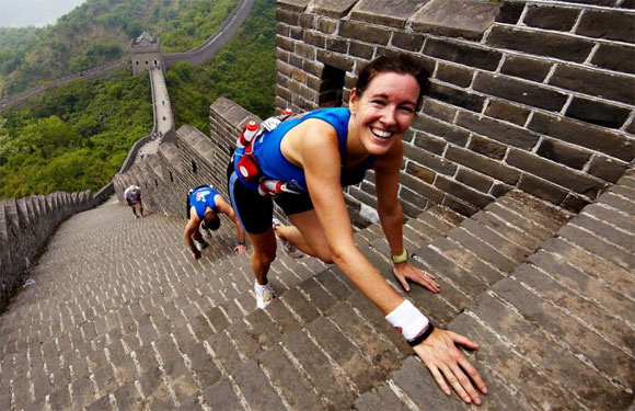 Great Wall Marathon, Tianjin Province, China