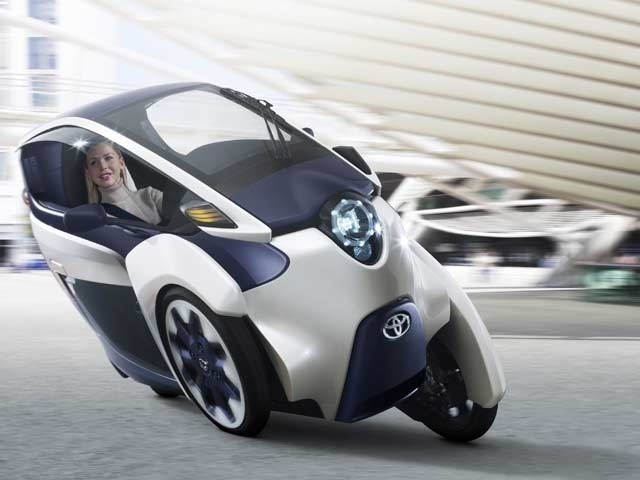Toyota i-ROAD personal mobility vehicle