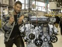 Usher Visits the Mercedes-AMG Factory