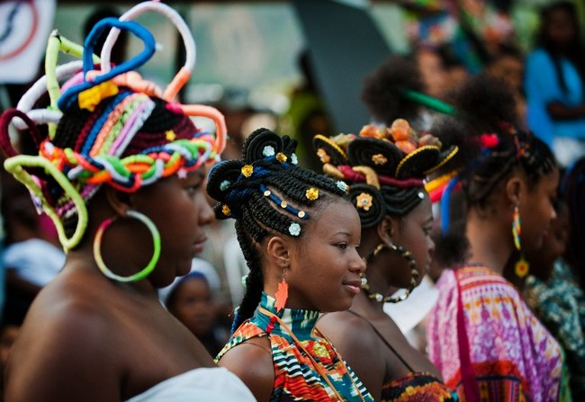 African-Colombian hairstyles