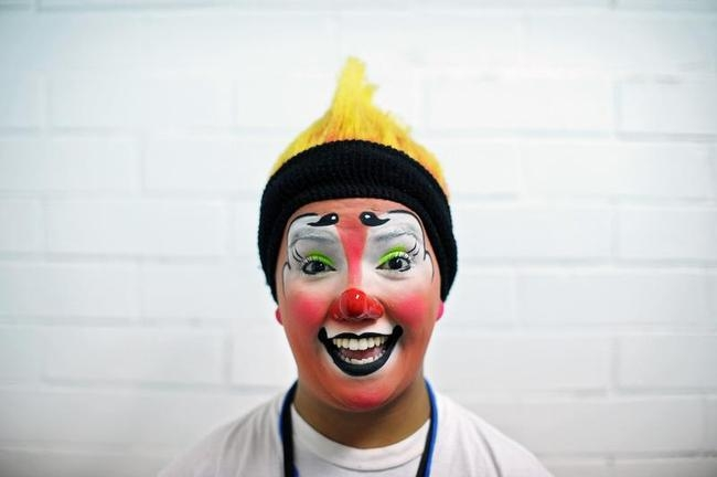 Colourful Clowns at V Laugh Festival
