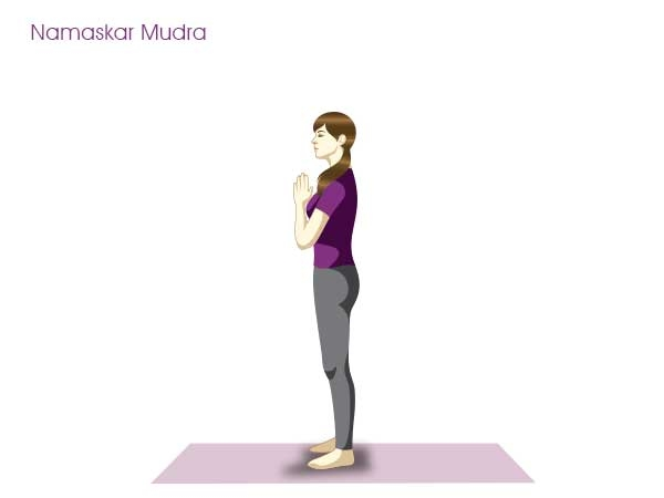 Yoga Postures for Weight loss : Yoga Poses to Lose Weight : Surya Namaskar