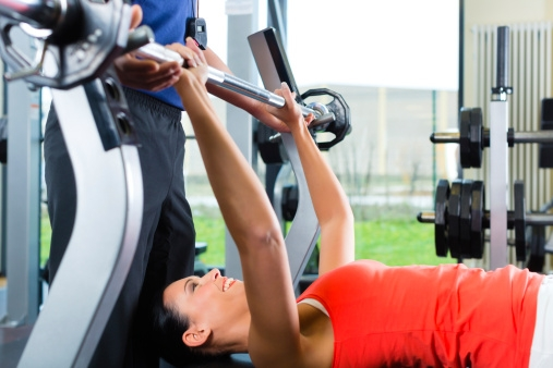 Workout for Sexy Body # 5: Bench Press