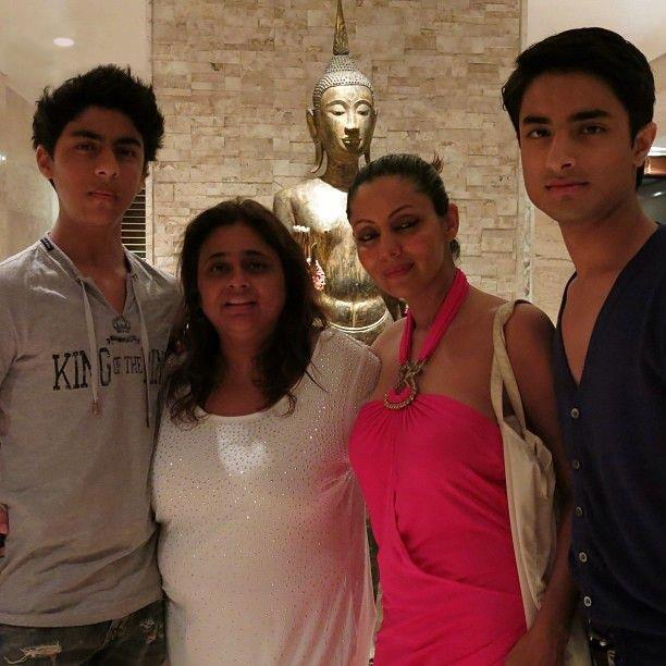 Gauri Khan with her son Aryan