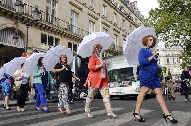 Plus-Size Models Parade