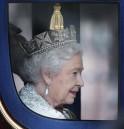 Queen Elizabeth II Attends Opening Of British Parliament