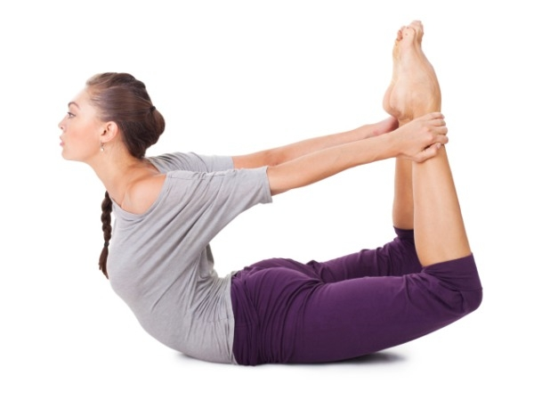 Yoga Postures for Weight loss : Yoga Poses to Lose Weight : Bow Pose