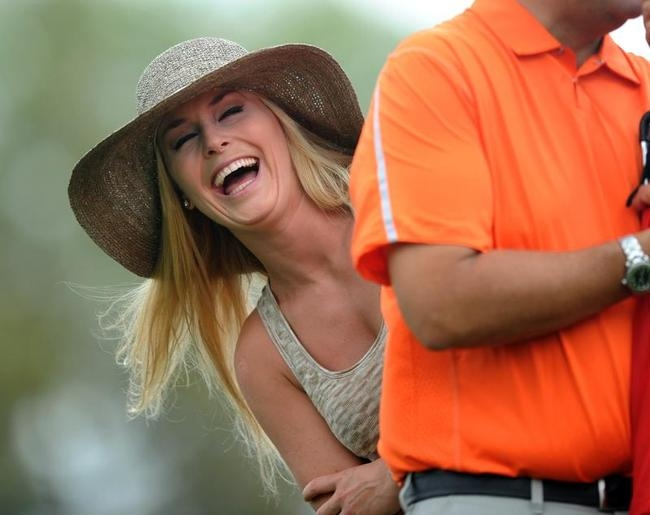 Lindsey Vonn is Tiger Woods