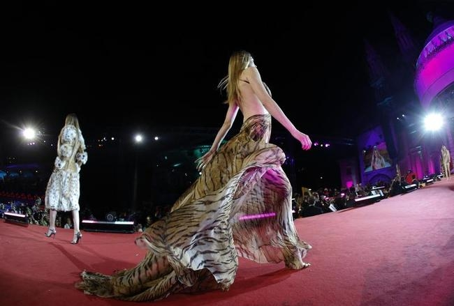 Sultry Models at Vienna Life Ball
