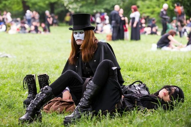 Goth Festival in Germany
