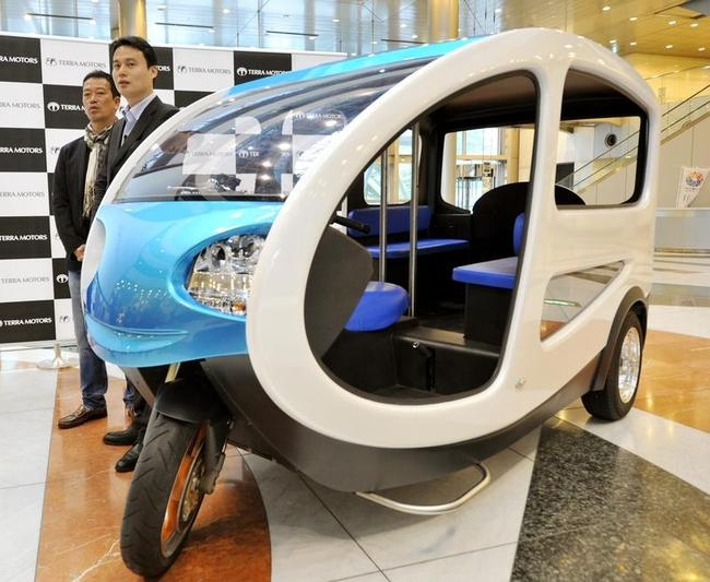 EV Tricycle Taxi
