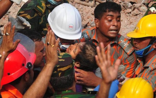 Woman Found Alive In Ruins