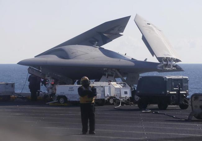 X-47B: US Navy Makes Aviation History