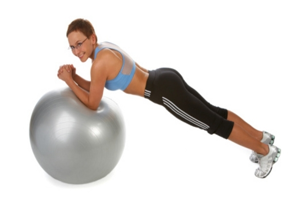 Workout for Sexy Body # 10: Elevated plank