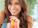 Dental care: 20 Tips for White Teeth : Use a straw