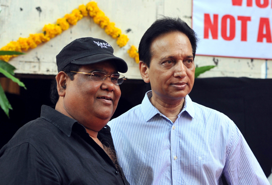 Satish Kaushik, producer Ratan Jain