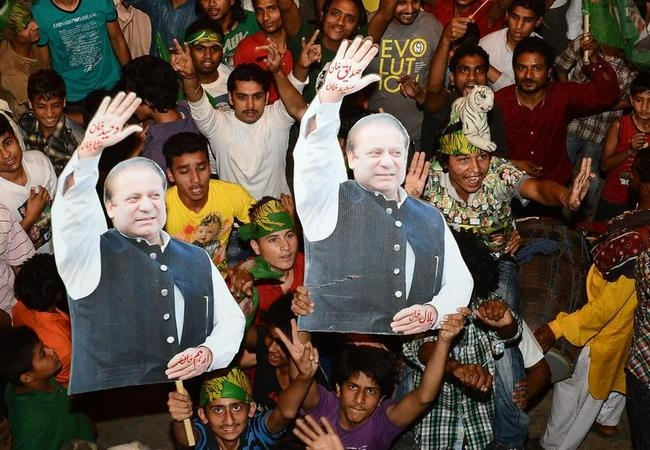 Nawaz Sharif Wins Pakistani Elections: Celebration PICS