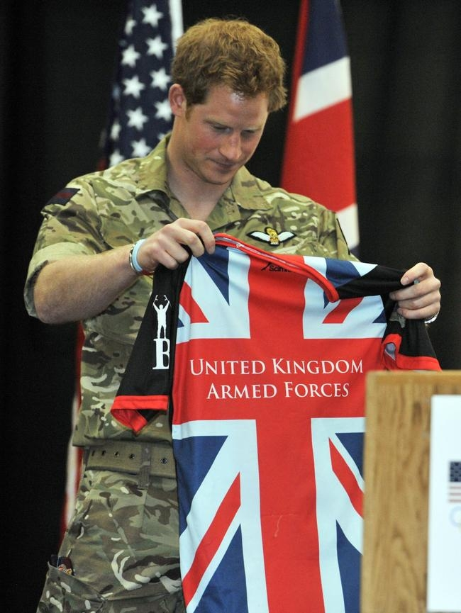 Prince Harry Visits The United States