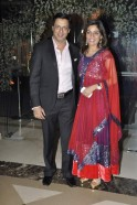 Madhur Bhandarkar with wife