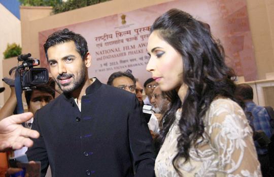 John Abraham with girlfriend Priya Runchal