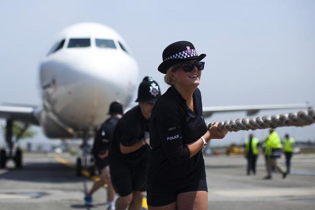 Plane Pull Contest