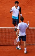 Somdev Devvarman Outplayed by Roger Federer