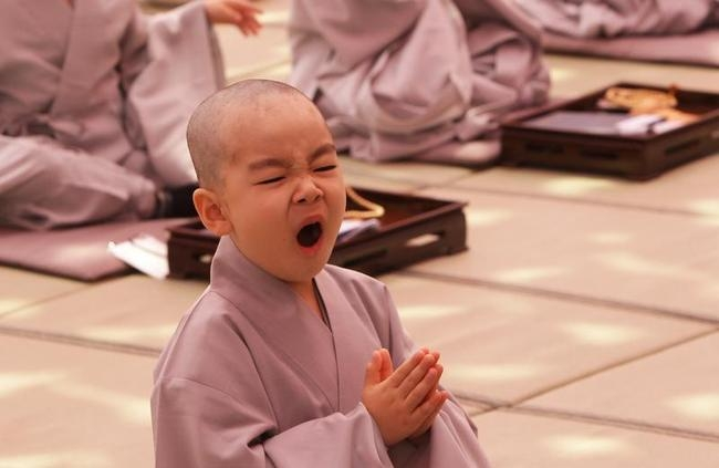 Children Become Buddhist Monks