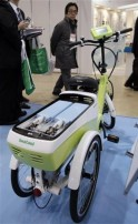 Hydrogen Power-Assisted Tricycle