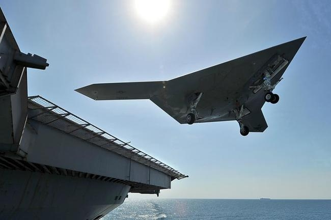Will help Navy develop future carrier-based drones