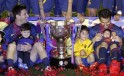 Barcelona Celebrate La Liga with Kids