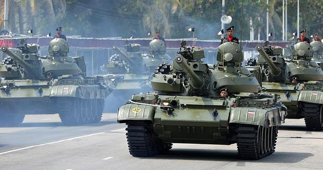 Victory Day parade in Colombo
