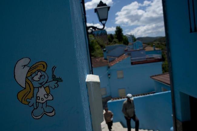 Beautiful Smurfs Village