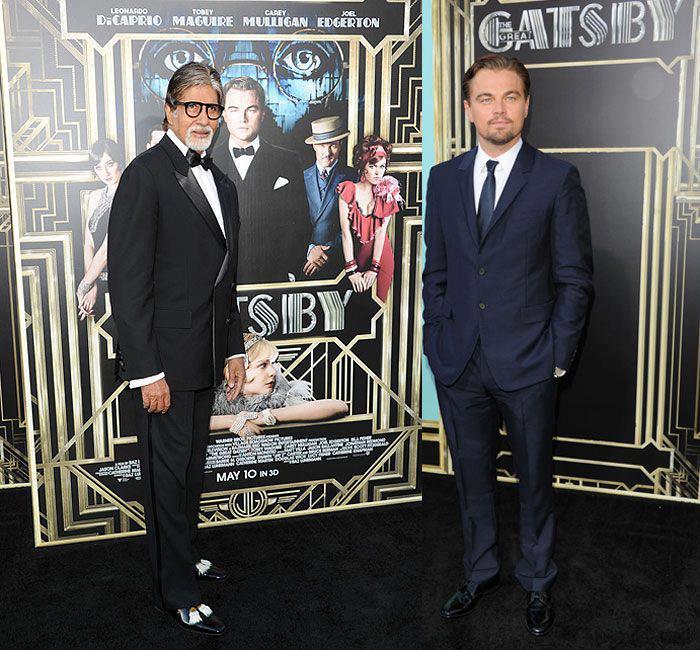 Amitabh Bachchan, Leonardo DiCaprio