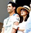Siddharth Mallya and Preity Zinta