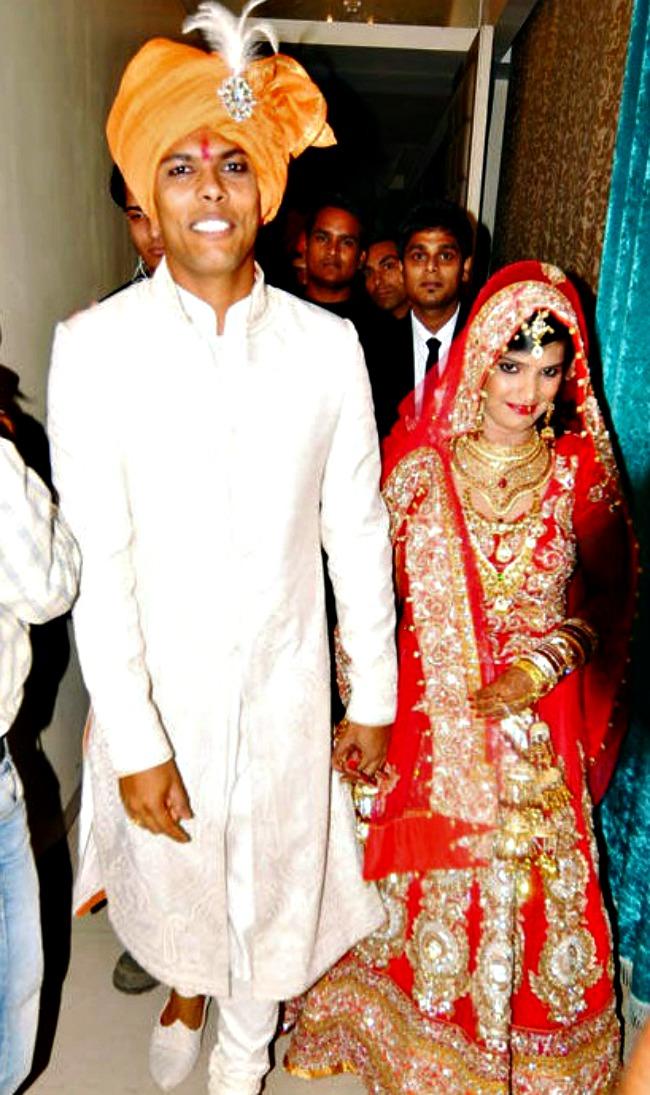Umesh Yadav and Tanya Wadhwa