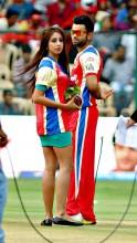 Virat Kohli and Sanjana