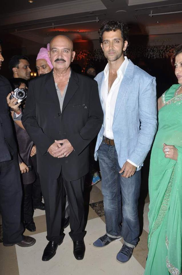Rakesh & Hrithik Roshan