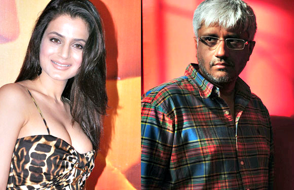 Amisha Patel and Vikram Bhatt