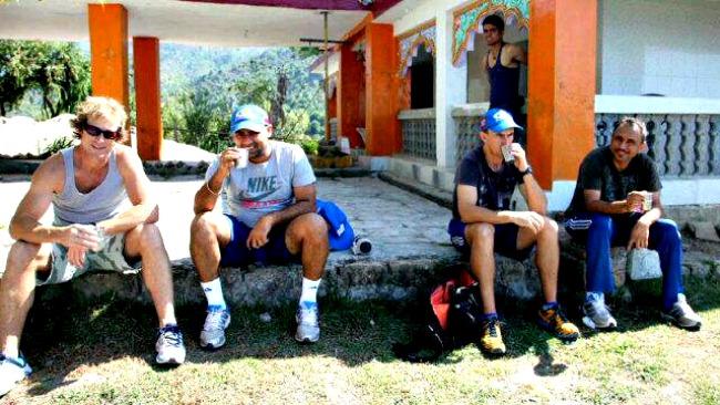 Mumbai Indians in Dharamsala