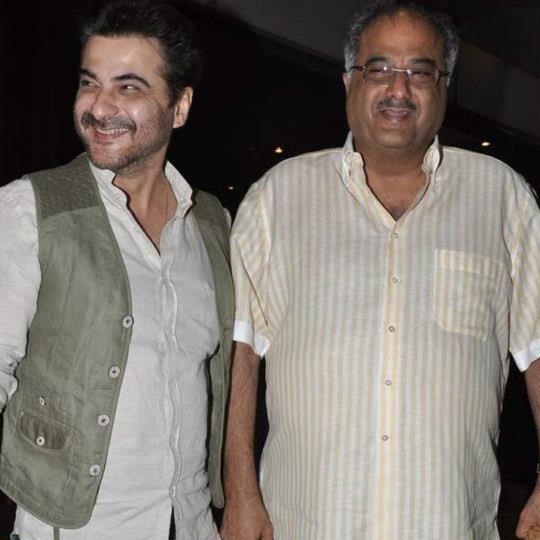 Sanjay Kapoor, Boney Kapoor