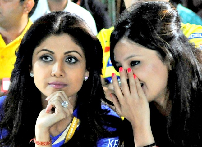 Shilpa Shetty and Sakshi Dhoni