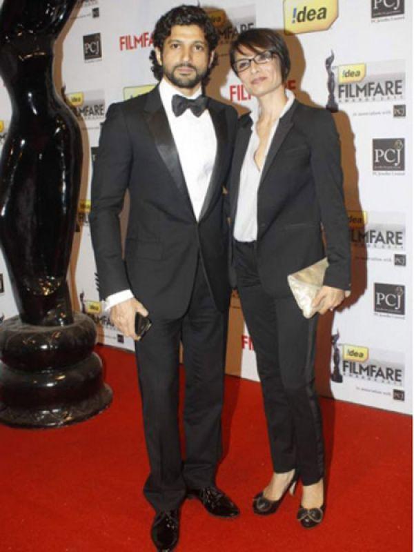 Adhuna Bhabani & Farhan Akhtar