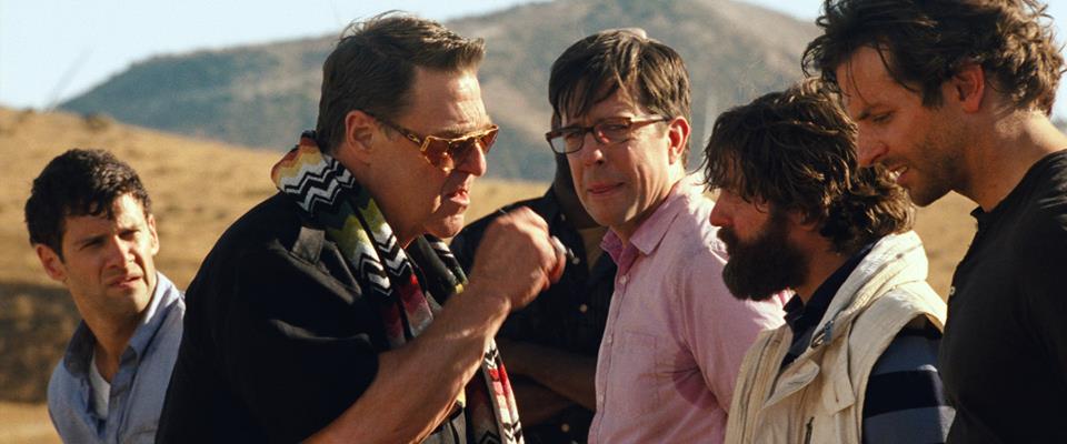 Justin Bartha, Bradley Cooper, Zach Galifianakis, Ed Helms