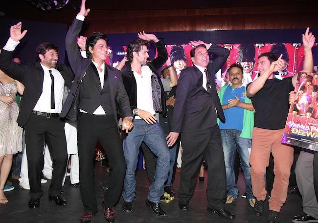 Sunny Deol, Shah Rukh khan, Hrithik Roshan, Dharmendra, Aamir Khan