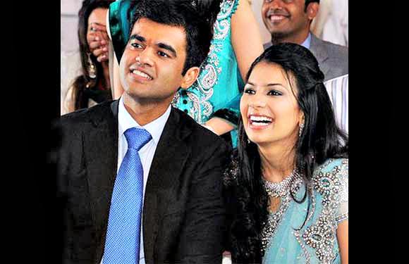 Abhinav Jhunjhunwala and Prerna Sarda
