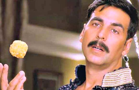 Akshay Kumar in Rowdy Rathore